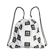 Best drawstring bag made out of recycled plastics by Uzwelo Bags in South Africa.