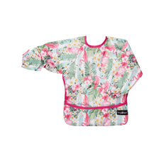Top quality waterproof bib and apron with KAM fasteners in a beautiful pink design.