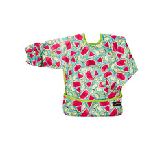 Top quality waterproof bib and apron with KAM fasteners in a beautiful kiwi design.