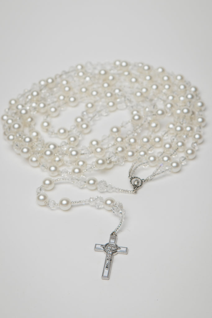 Pearl Rosary Cord