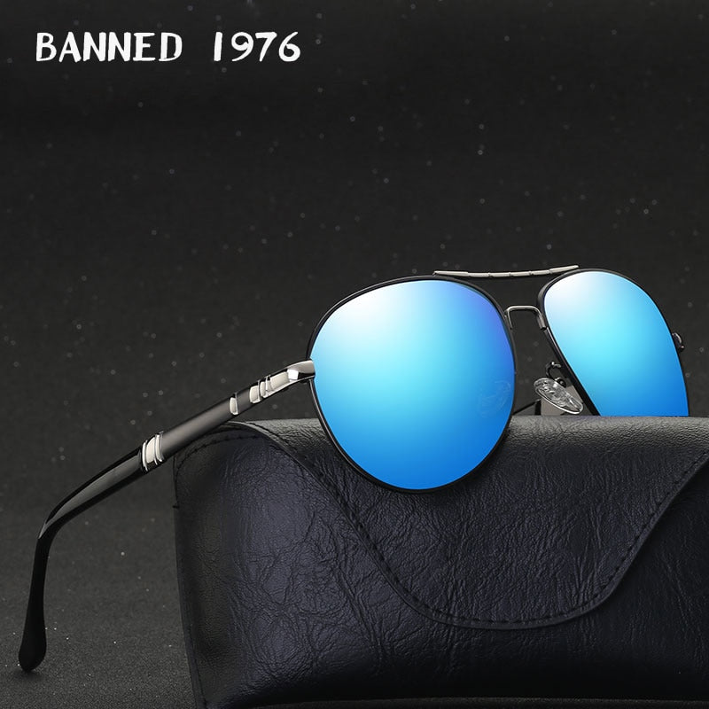 Polarized Aluminum Magnesium Driving Sun Glasses
