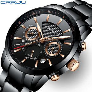 Stylish Water Proof Luxury Steel Watch
