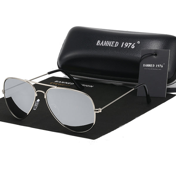 Polarized Classic HD Metal Frame Fashion Sunglasses For Men Women