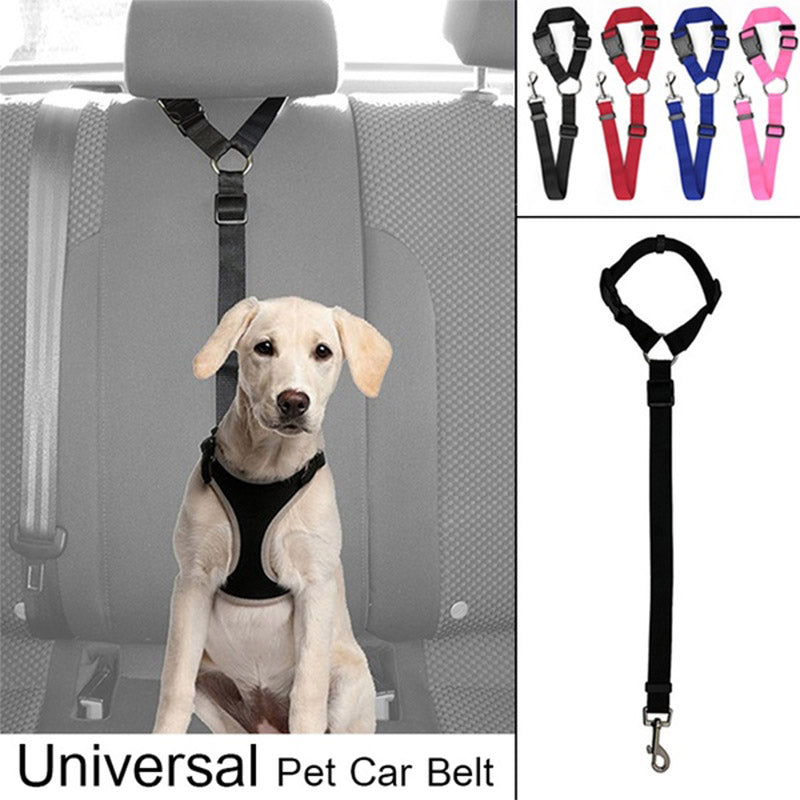 Adjustable Pet Seat Belt Adjustable Pet Dog Cat Car Seat Belt