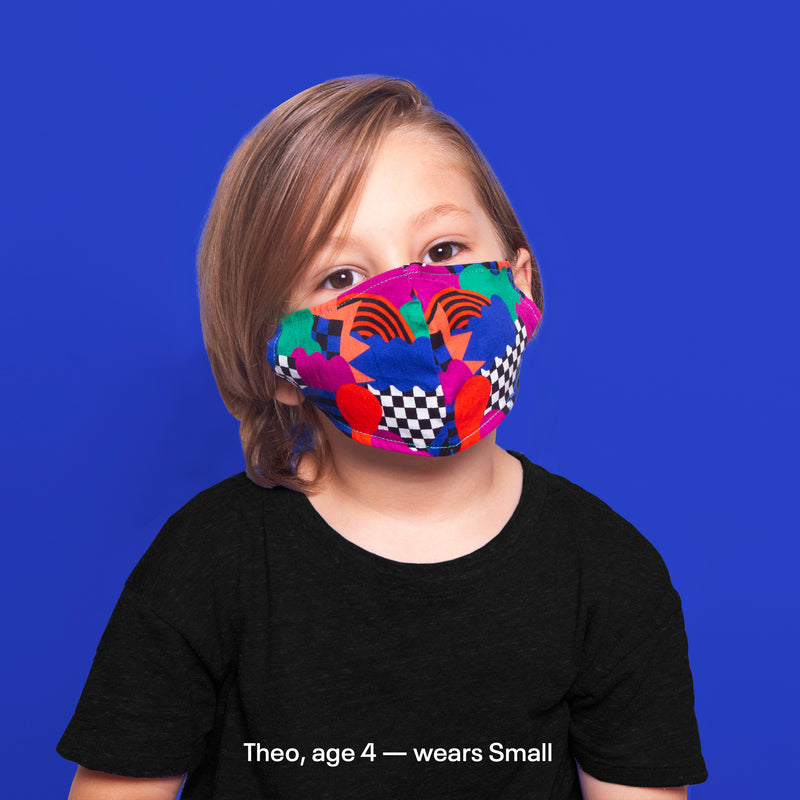 All Sorts Face Mask - by Wade & Leta