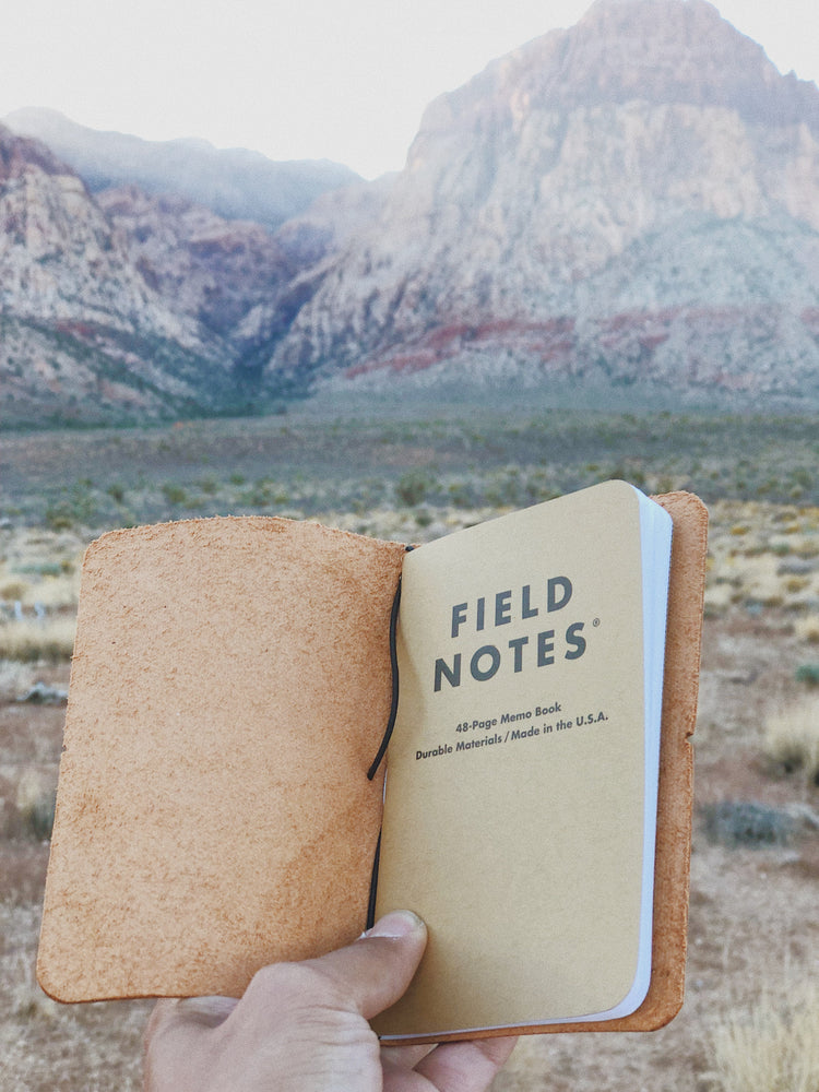 Field Notes Notebook Cover