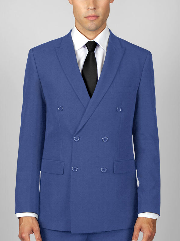 FRENCH BLUE DOUBLE BREASTED TR SUIT