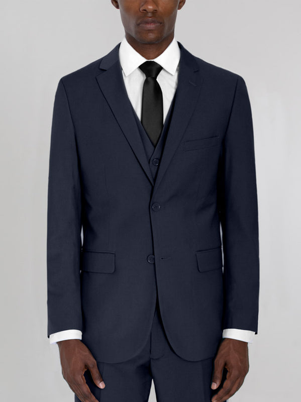 NAVY BLUE THREE PIECE SUIT