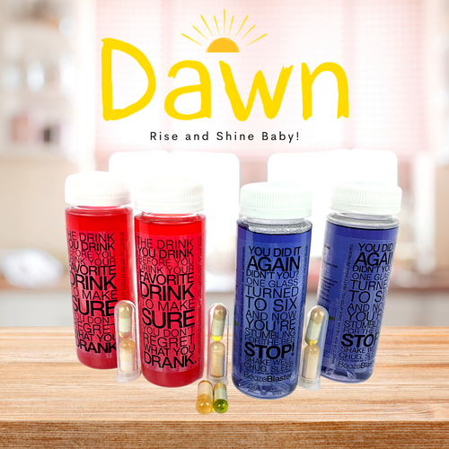 DAWN - enhance your RECOVERY (4 drinks, 6 capsules) - limitlesslifesupplements