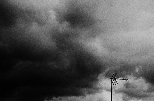 Black & White Art Print UK - Clouds