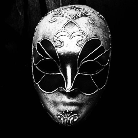 Black & White Art Print - Mask Three S