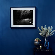 Black & White Art Print - Road
