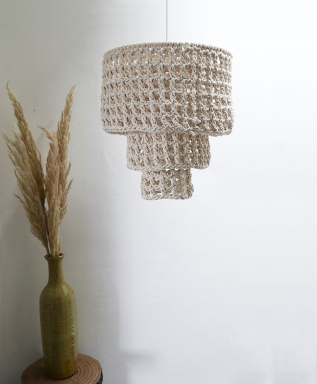 Boho Chandelier Light Shade - Silvo