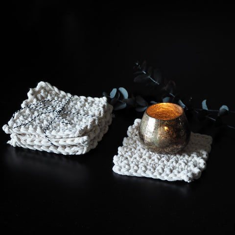 Boho Chic Coasters - Setina - The Knotted Touch UK