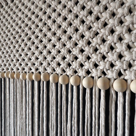 Long Macrame Curtain