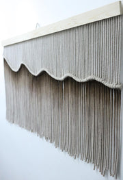 Brown Ombre Dip Dyed Wall Hanging Armanda