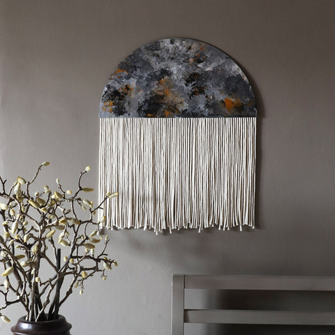 Abstract Round Wall Hanging - Dena Large