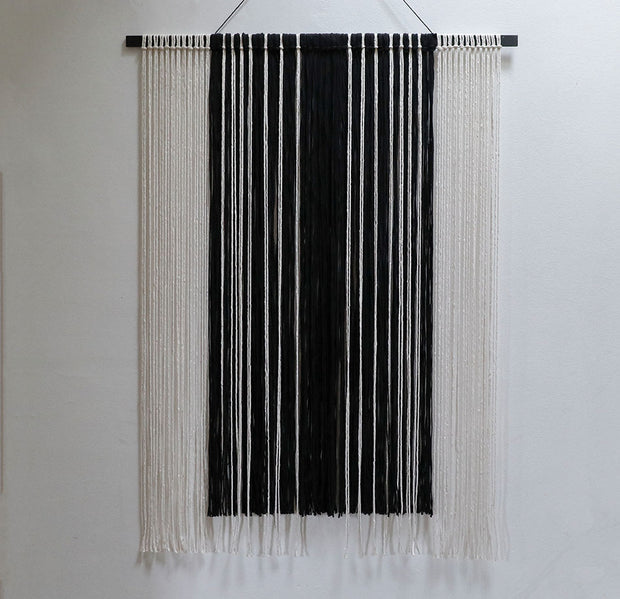 Monochrome Wall Hanging - Tide