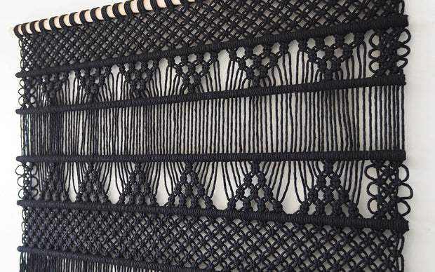 large macrame wall hanging