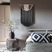 boho macrame wall hanging Terna - Fiber Art UK