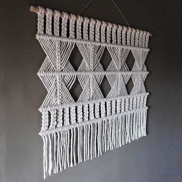 Boho Wall Hanging - Fiber Art - Billy