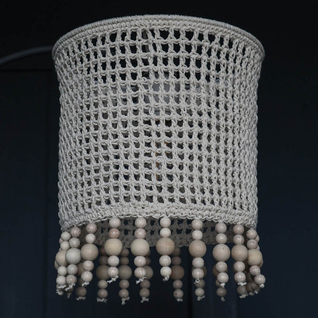 Boho Pendant Light Shade - Roso