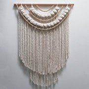 Boho Beaded Tassel Wall Hanging - Betty Long UK