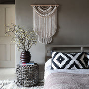Boho Beaded Tassel Wall Hanging - Betty Long
