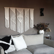 Boho Wall Hanging Presta - Large Macrame Wall Decor 120cm