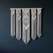 boho wall hanging natural cream - rosina UK