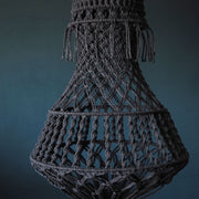 Quirky Boho Macrame Chandelier Light