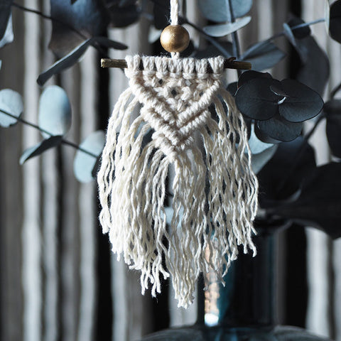 Boho Christmas Decoration – Elitina – White