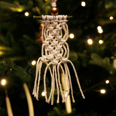 Boho Christmas Tree Decoration – Lara