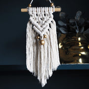 small macrame wall hanging