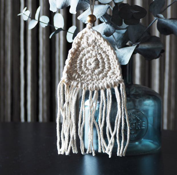 Boho Christmas Tree Decoration – Triangle