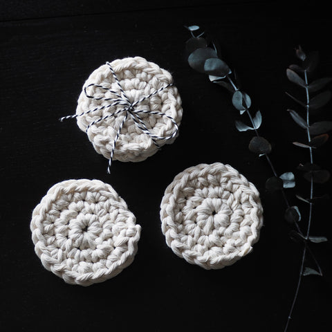 boho coasters - the knotted touch uk