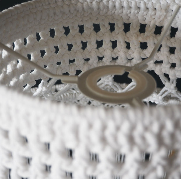 Boho Macrame Light Shade – Roxana White