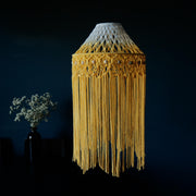 Boho macrame Light Shade, Yellow Ombre – Gabriela