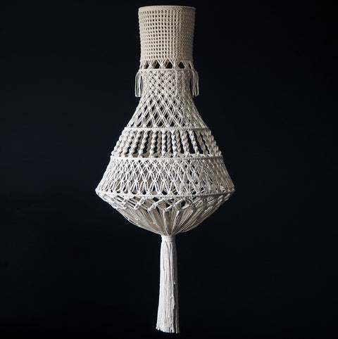 Boho Macrame Chandelier Light – Liberty
