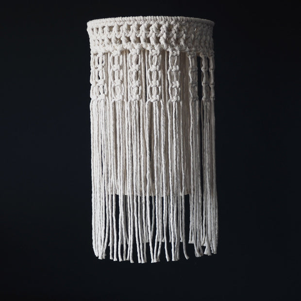 Boho Tassel Macrame Chandelier Light UK