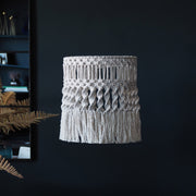 Boho Macrame Light Shade Ceiling Light - Gaseta - Boho Lighting UK