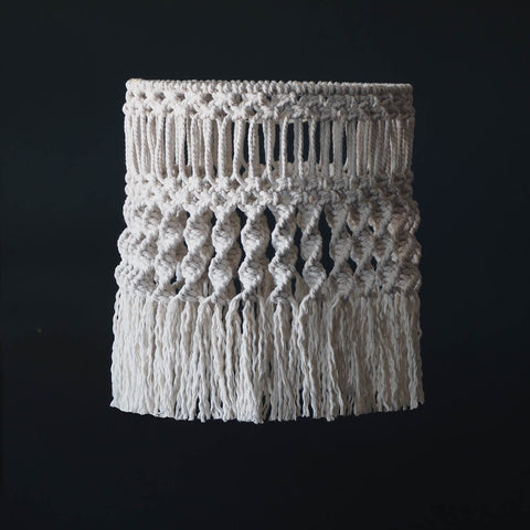 Boho Macrame Light Shade Ceiling Light - Gaseta - UK