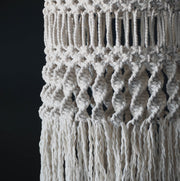 Boho Macrame Light Shade Ceiling Light - Gaseta The Knotted Touch