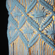 Macrame Lampshade – Viotina - The Knotted Touch UK - Macrame Design
