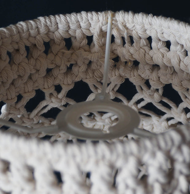 Boho Macrame Light Shade - Crista Small fitting