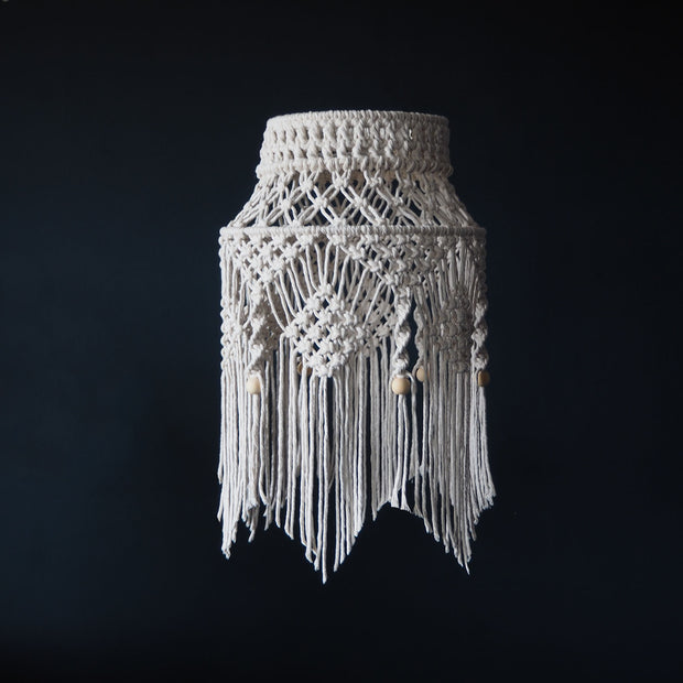 Boho Macrame Light Shade - Crista Small