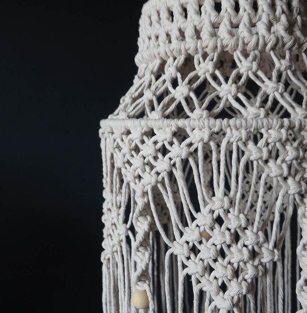 Boho Macrame Light Shade - Crista Small - Lightshade