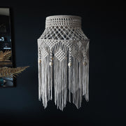 Macrame Boho Light Shade Natural Off White - Crista