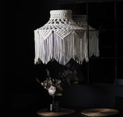 Quirky Boho Macrame Light Shade – Roxana