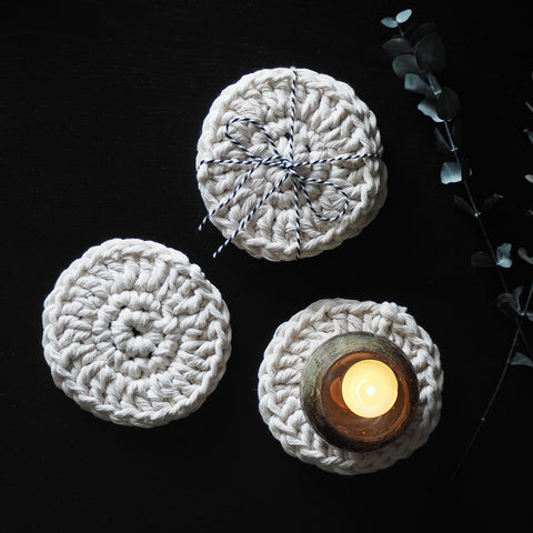 Boho Coasters - The Knotted Touch